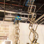 Scissor Lift Hire for Mechanical Technician