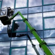 Scissor Lift Hire for Window Replacement